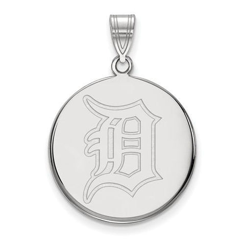 Detroit Tigers Large Disc Pendant