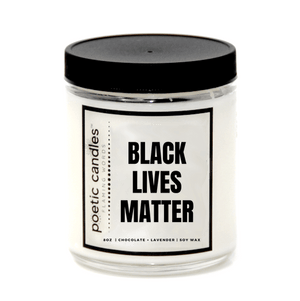 BLACK LIVES MATTER CANDLE
