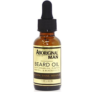 ABORIGINAL MAN BEARD OIL