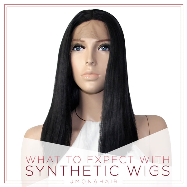 What to Expect with Synthetic Wigs