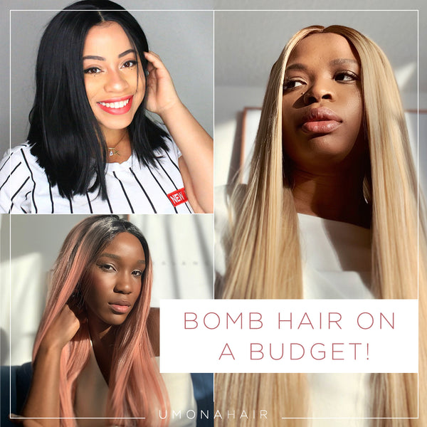 Bomb Hair on a Budget!