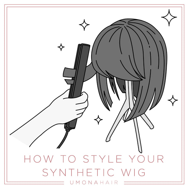 How to style your synthetic wig