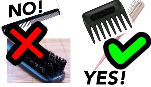DoTheRightThing- Combs/Brushes To Use When Styling Synthetic Wigs