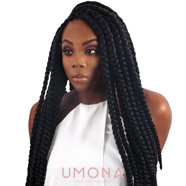 Black Crochet Havana Mambo Twists
