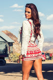 Rusty Tribal Romper