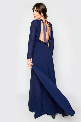 True Blue Maxi Dress