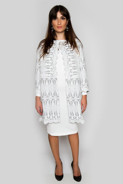 Caliope Embroidered Coat