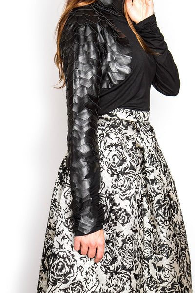 Walking On Air Midi Skirt