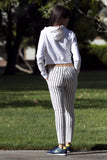 Rae Long Striped Pants