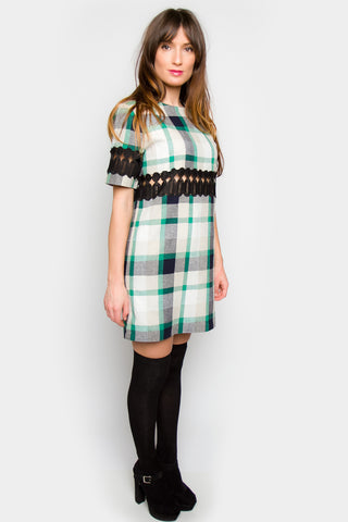Jonah Shift Plaid Dress