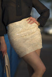 Sheelah Mini Sequin Skirt