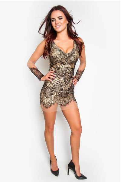 Ferrara Lace Mini Dress