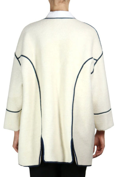 Vienna Wool Open Front Coat