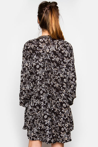 Selma Floral Tunic Dress