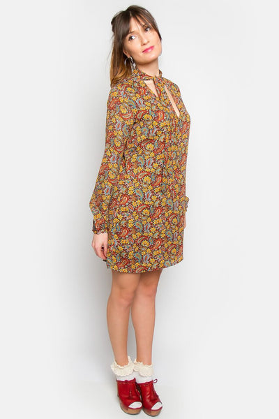 Tarra Tie Neck Dress