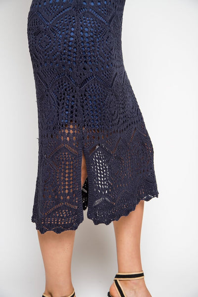 Alexa Crochet Dress