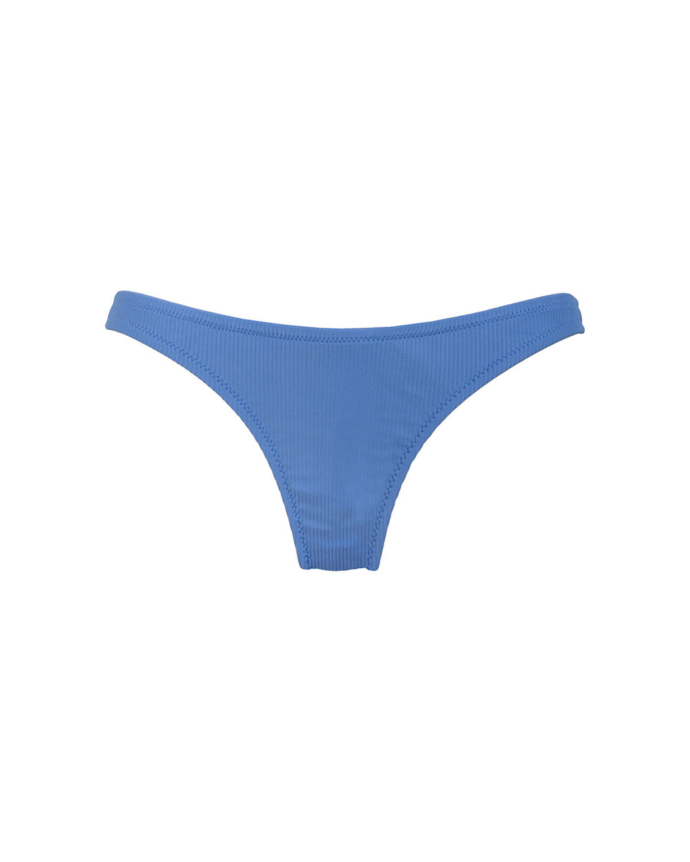 Effie Bottom - Periwinkle Rib - Static Swimwear - Modern Minimalist Bikinis - Made in Los Angeles
