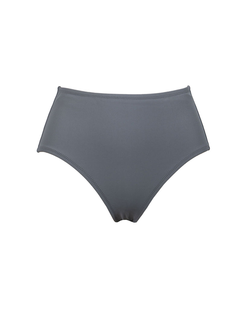 Westwood Bottom -  Grey Matte - Static Swimwear - Modern Minimalist Bikinis - Made in Los Angeles