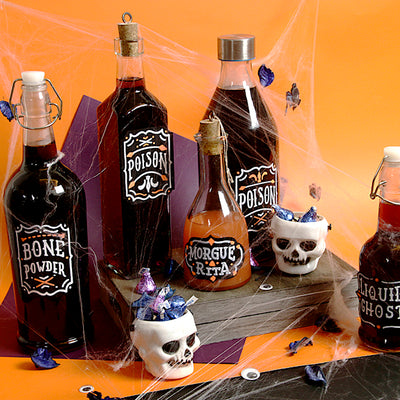 Chalkboard Labels for your Halloween Party Concoctions