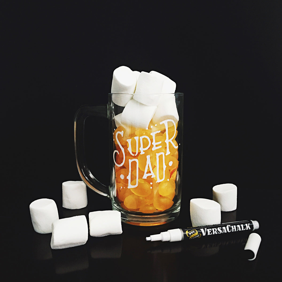 This Diy Chalkboard Beer Mug Will Surely Cheer Up Dad On Father S Day
