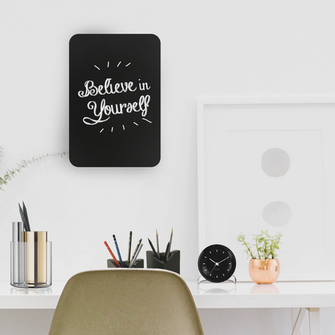 3 reasons why the frameless acrylic chalkboard is a must have for your