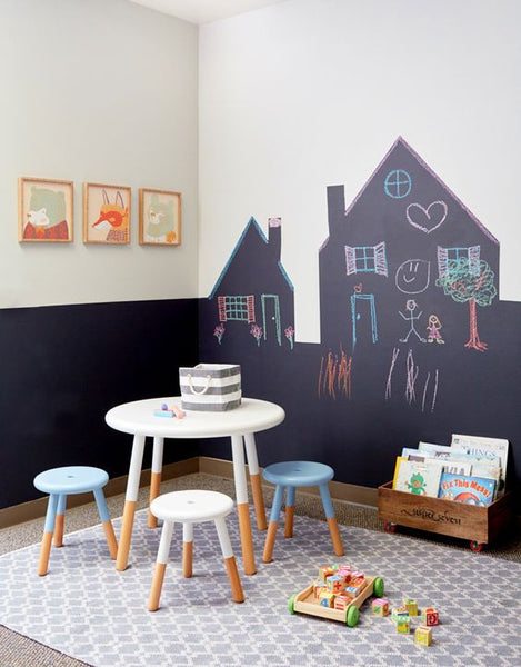 CHALKBOARD WALL HOUSE TRADITIONAL