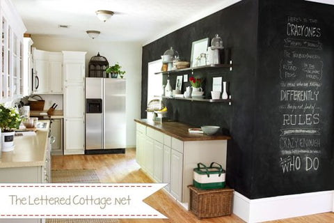 Chalkboard Kitchen Wall Decoration