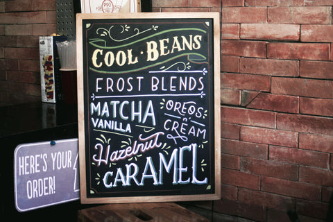 top 5 business uses of chalkboard signs and menus plus cool chalkboar