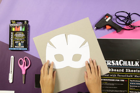 diy halloween cat mask