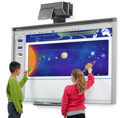 smart board: the high-tech chalkboard