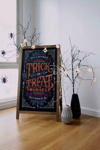 DIY halloween party decor