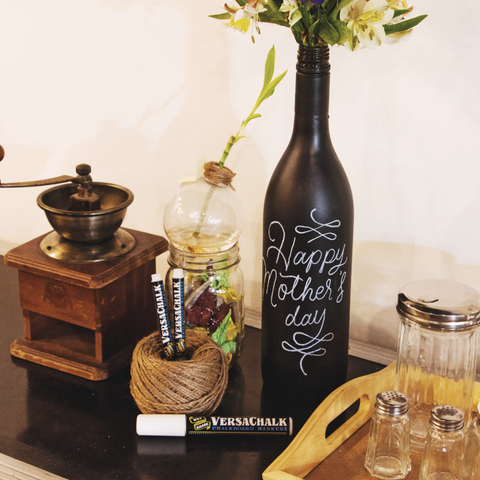 How To Make A Super Easy Diy Chalkboard Flower Vase For Any Occasion