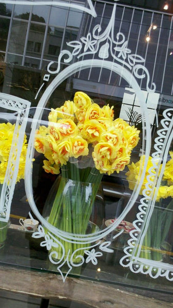 Florist window display