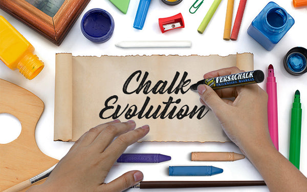 in the beginning there was chalk