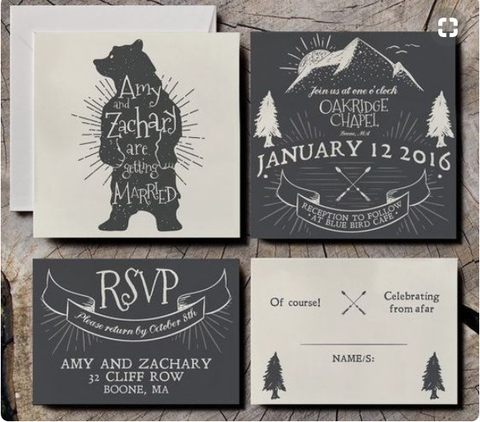 the 10 coolest chalkboard invitations for your wedding
