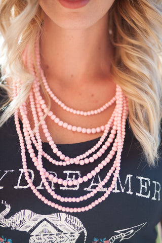 Stranded Statement Necklace - Multiple Color Options