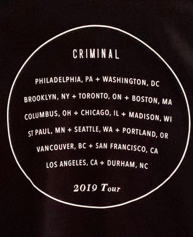 CRIMINAL MERCH