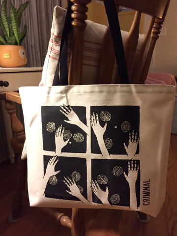 The Shell Game Tote