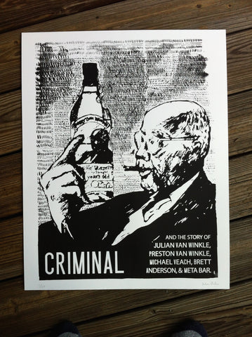Pappy Art Print - LIMITED RUN of 25!
