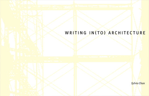 Writing In(to) Architecture  速寫建築