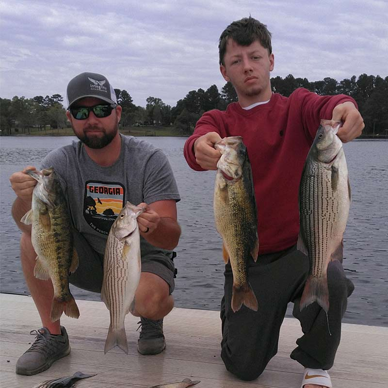AHQ INSIDER Lake Russell (GA/SC) Spring 2021 Fishing Report – Updated April 16
