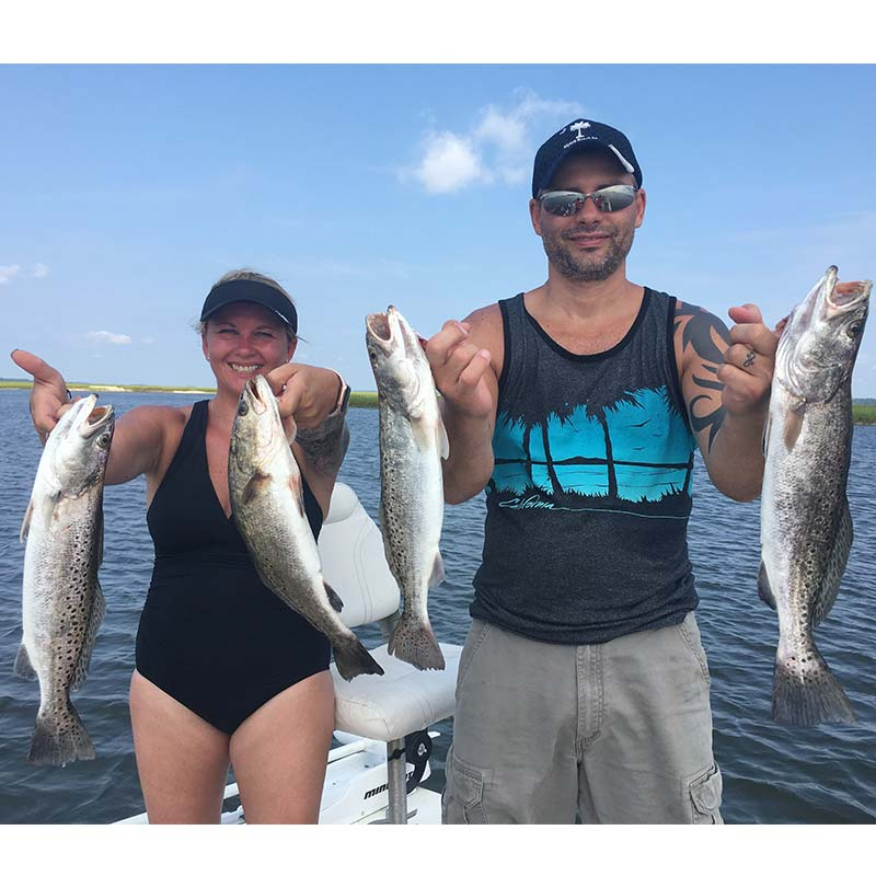 AHQ INSIDER Edisto Island (SC) Summer 2020 Fishing Report – Updated August 27