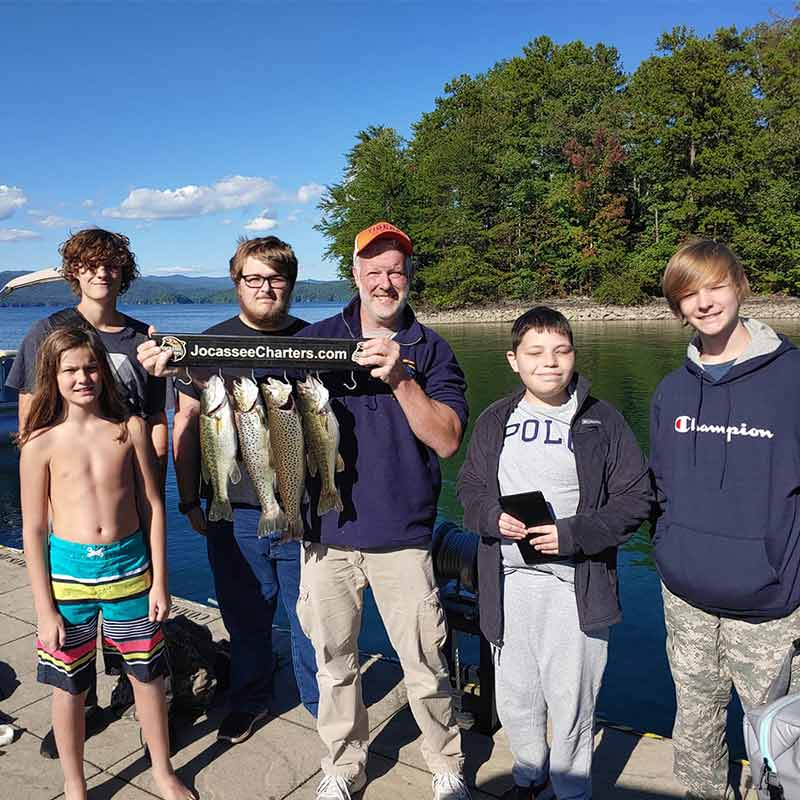 AHQ INSIDER Lake Jocassee (SC) Fall 2020 Fishing Report – Updated October 6