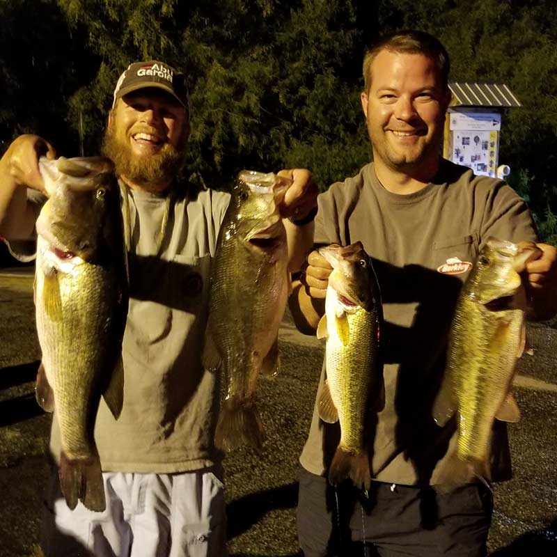 AHQ INSIDER Lake Monticello (SC) Summer 2020 Fishing Report – Updated August 27