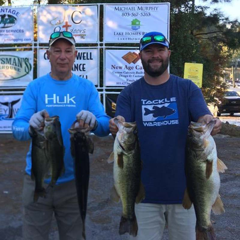 AHQ INSIDER Lake Murray (SC) Fall 2020 Fishing Report - Updated November 24