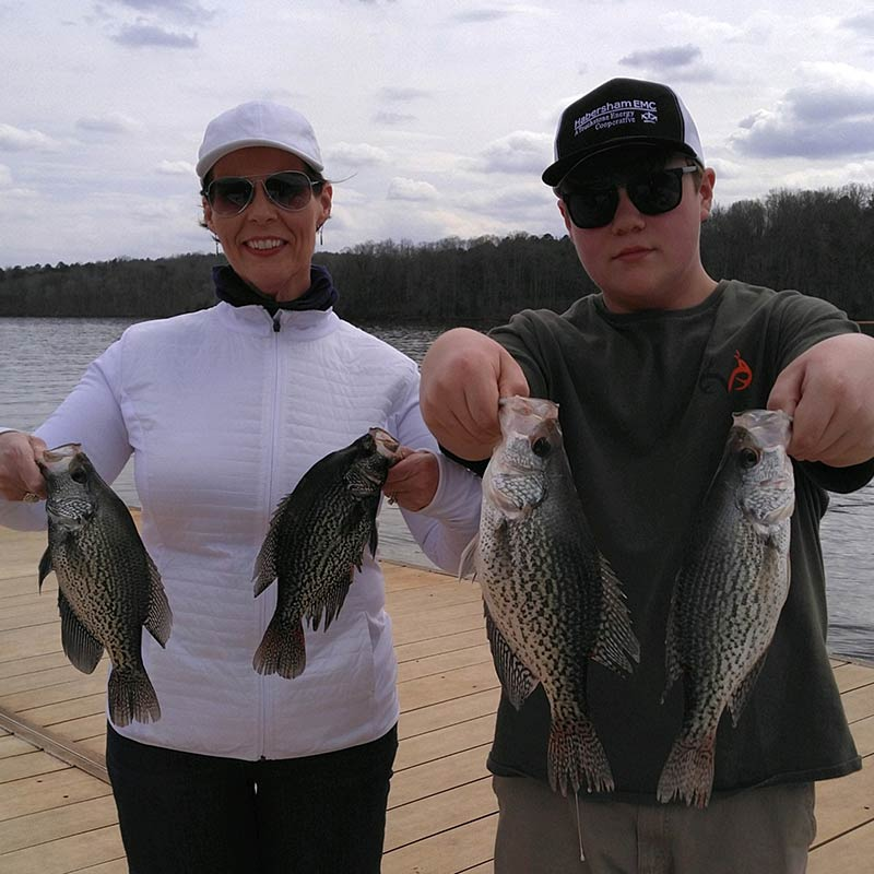 AHQ INSIDER Lake Russell (GA/SC) Spring 2021 Fishing Report – Updated March 19