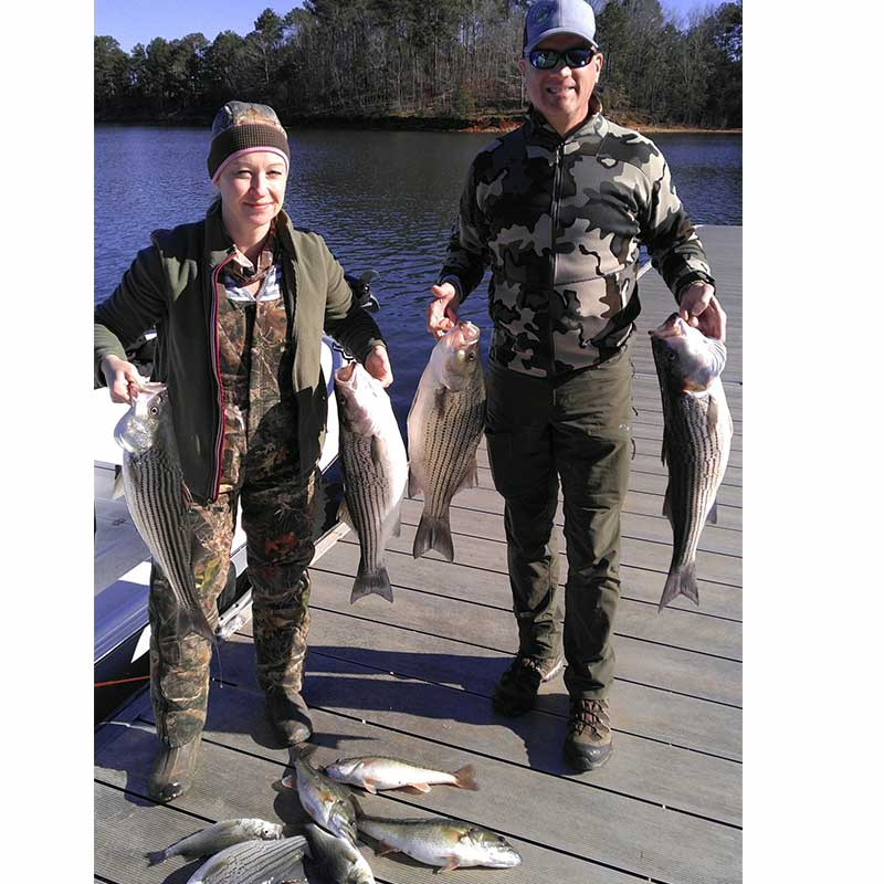 AHQ INSIDER Lake Russell (GA/SC) Spring 2021 Fishing Report – Updated February 4