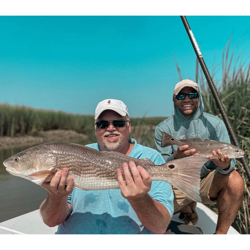Every now and then there is a good bite at low tide right now - with Captain Tuck Scott
