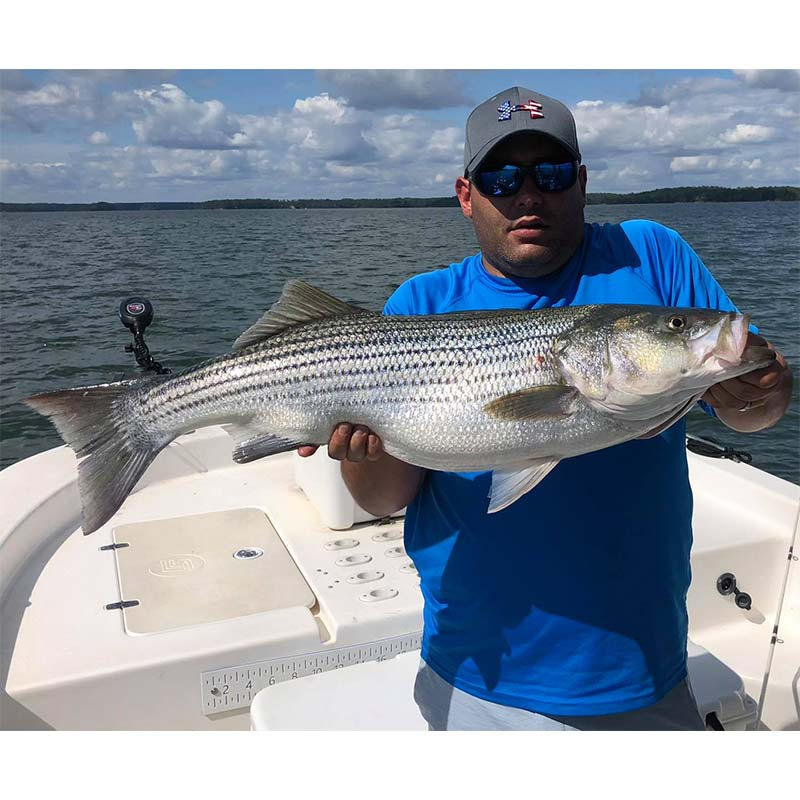 Caught with William Sasser Guide Service