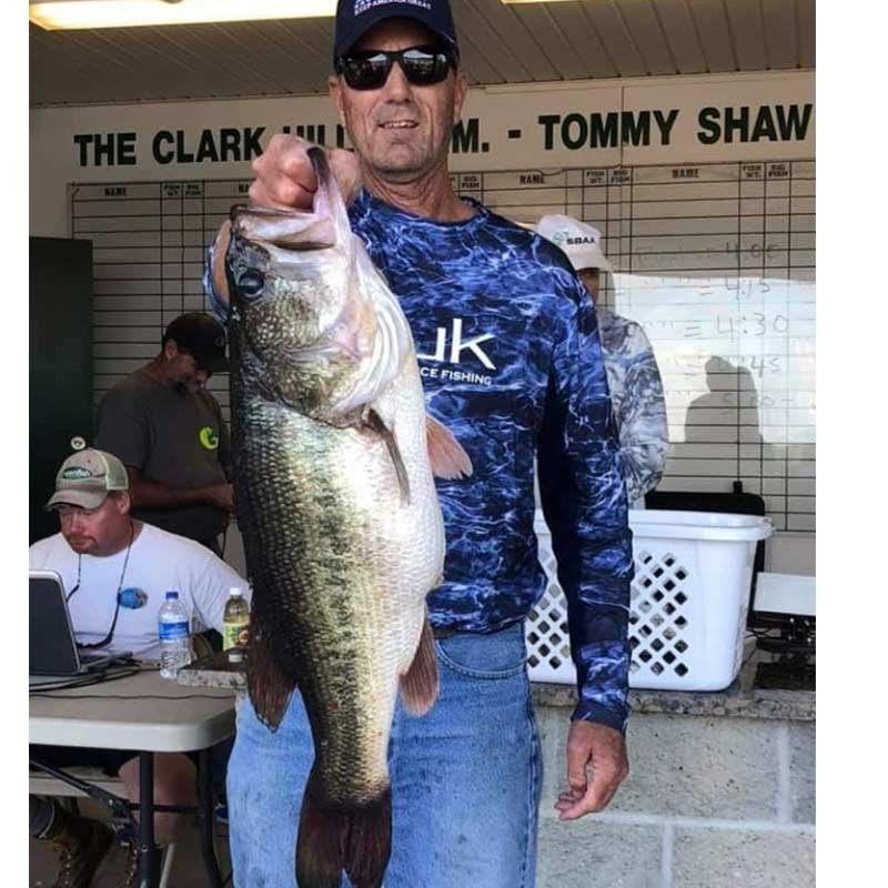 Brad Collins with a Clarks Hill giant!